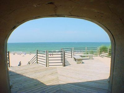 Photo for Holland home ideal for families/large groups, Lake Michigan across the street