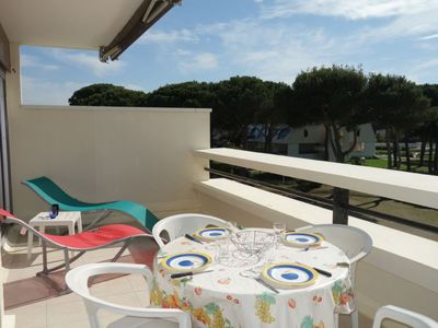 Photo for One bedroom Apartment, sleeps 4 in Le Grau-du-Roi with Air Con and WiFi