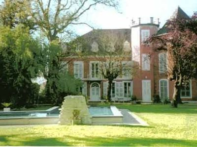 Photo for 7km SE of PAU, gd comfort house with private pool in 4000m² park