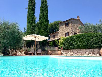 Photo for Beautiful 18th Century Stone-built Villa, Infinity Pool, Stunning Views, Wifi