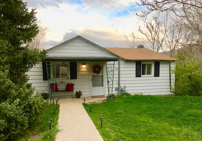 Cute little two bedroom one bath home near historic downtown Golden, Colorado.