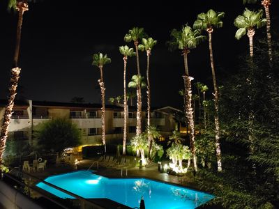 Photo for Downtown Palm Springs. Walking distance to dining, shops, & casino