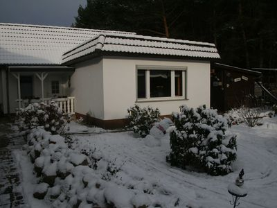 Photo for Holiday house at the edge of the forest Biendorf near Kühlungsborn - 2-room holiday house (70m², max 4 pers + 1 baby)