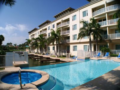 Photo for LAS MARINAS #101 Channelfront, boat slip, SPRING BREAKERS WELCOME 21+ TO RESERVE