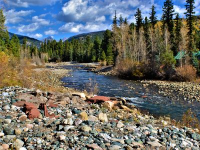 Photo for Spacious Cabin Right on Vallecito Creek with Gorgeous Views