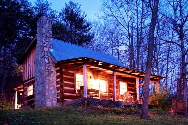 The Cabin At Dusk