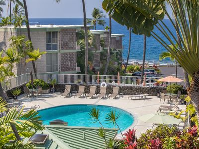 Photo for #Ocean and Pool View, Completely Renovated, A/C, Free WiFi & Parking