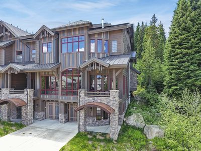 Photo for Base Camp 450 | Luxury Slopeside Retreat | Sunny, Spacious and Private