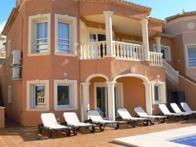 Photo for Calpe Luxury Holiday Villa with private pool and magnificent views