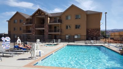 Photo for Roca Roja Condo, Moab - Sleeps 10! (Bldg 6)