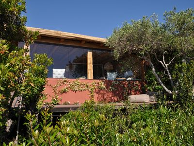 Photo for Charming house with magnificent views of the sea and the golf course, swimming pool.