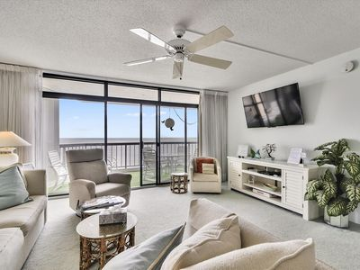 Photo for FREE DAILY ACTIVITIES,  OCEANFRONT!!! FREE WIFI!!! Beachy 3 Bedroom Oceanfront!