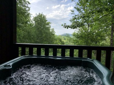 Photo for A view for 2 & Cozy, Close to Pigeon Forge and Gatlinburg, WiFi