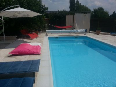 Photo for Architect villa high quality services with private swimming pool 9x4