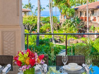 Photo for BEAUTIFULLY RE-DECORATED! Castaway Cove C201 at Wailea Beach Villas