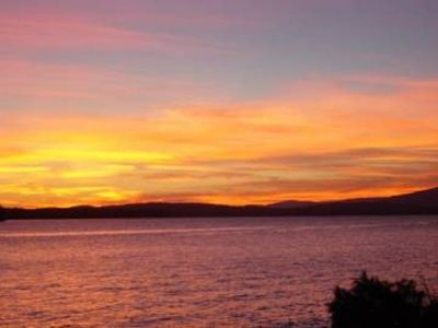 Photo for Lake Winnipesaukee Waterfront Home With Spectacular Sunsets