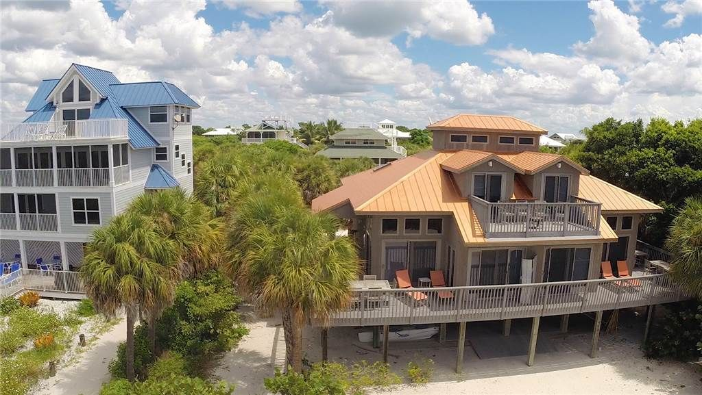 Gulffront 3 Bedroom Townhouse With Sweeping Views Of The Gulf Lee County