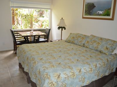 Photo for BEST PRICE/VALUE  with King Bed, Private Lanai, WIFI, Beach items, and more!