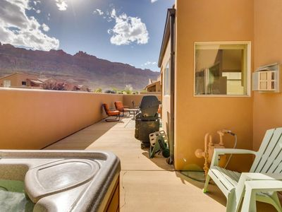 Photo for Moab at Rim Village, Private Hot Tub- Amazing Views of the Rim, Pet Friendly!