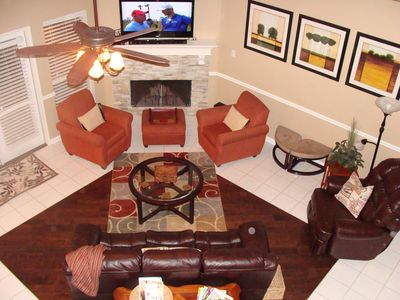 Photo for SPRING SPECIAL!  Beautiful  Home in gated community/HOT TUB/GOLF COURSE
