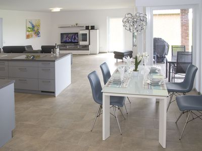 Photo for Villa Nordsee - new exclusive bungalow near Greetsiel, free Wi-Fi