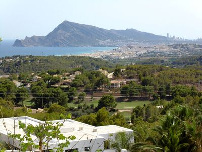 Photo for Overlooking the sea from Altea to Calpe.