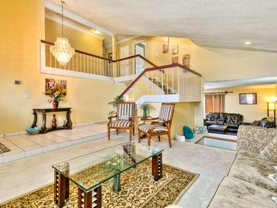 Photo for Luxuries Comforts Home near Disneyland w/ Hot Tub, Pool and Fire Pit