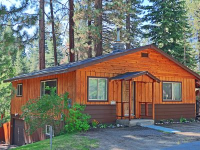 homeaway tahoe grill cabins s w deck gas rental vacation lake cabin loft
