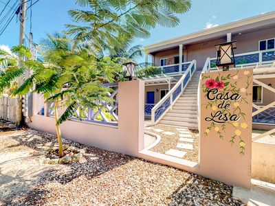 Photo for Family-friendly apartment with balcony views & free WiFi - close to the beach!