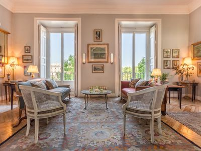 Photo for One of a kind elegant property for 6 with views of the Royal Palace.