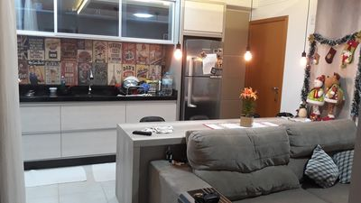 Photo for Furnished and equipped apartment one block from the beach