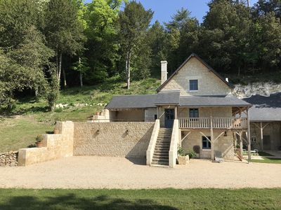 Photo for The Trianon Castle Sonnay, near Chinon: Cottage 4 **** for 6