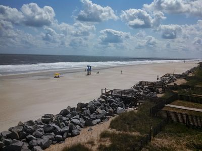 Photo for Oceanfront Carolina Beach North End - Kid and Pet Friendly - Top Floor, End Unit