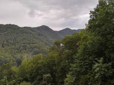 Photo for Beautiful Mountain views with private balcony close to Asheville, NC
