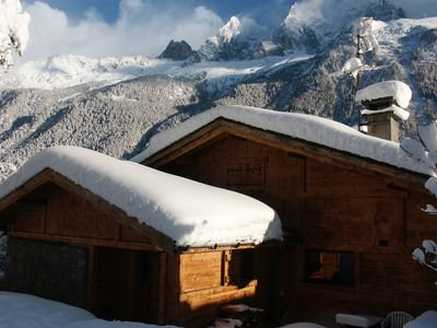 Photo for 3BR House Vacation Rental in Chamonix-Mont-Blanc, Auvergne-Rhône-Alpes