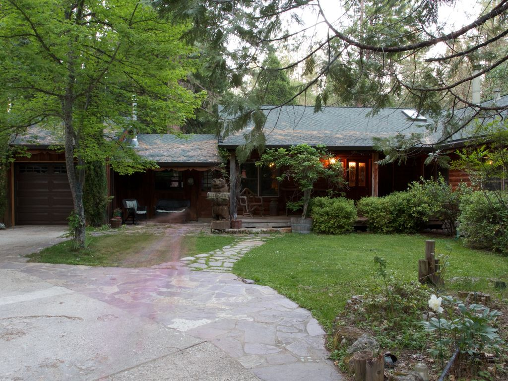 best log cabin in nevada city family and p homeaway