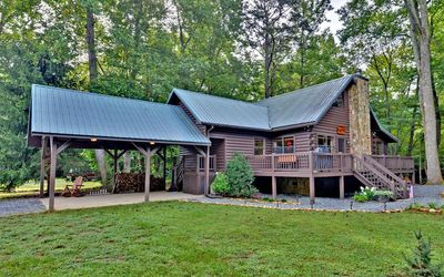 Photo for 3BR Cabin Vacation Rental in Cherry Log, Georgia