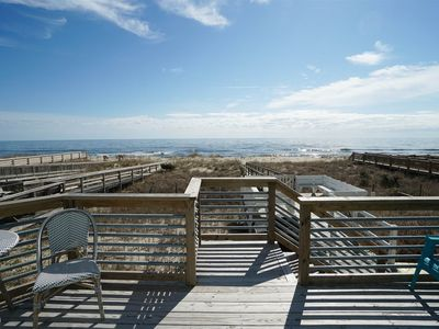 Photo for Oceanfront newly renovated duplex with plenty of space for everyone