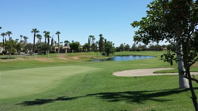 Photo for Beautiful 3 bedroom, 2 bath condo with golf course views at Desert Princess
