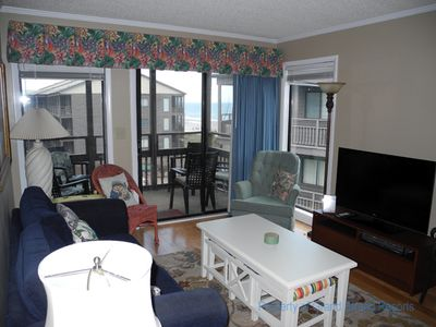 Photo for Tilghman Beach and Racquet Club Unit: 309! Oceanview 3 Bedroom Condo. Book now for best rates!