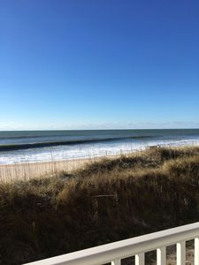 Photo for POINT UNIT 1st FLOOR W 180 DEGREE UNOBSTRUCTED VIEW OF OCEAN FROM FRONT DECK...
