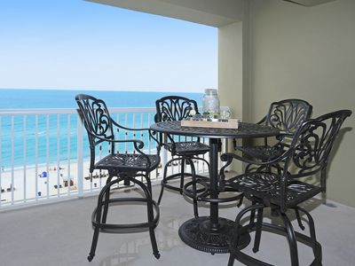 Photo for AMAZING BALCONY VIEWS! OPEN 9/28-10/5! REALLY COLORFUL BEACHY UNIT!