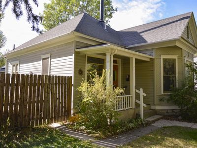 Just two blocks from Downtown Bozeman, the Dahlia House is a tucked retreat