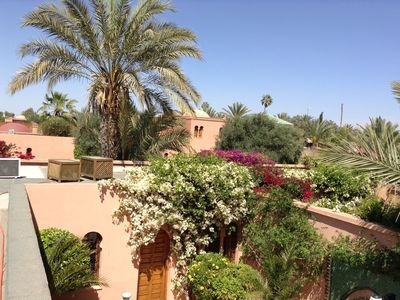 Photo for Very beautiful Riad in residence of 3 hectares in the Palmeraie