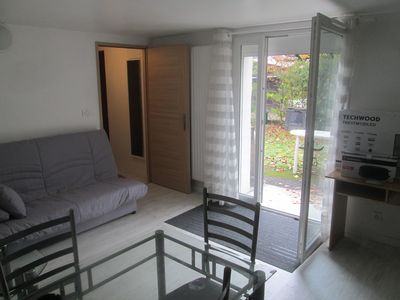 Photo for 2-room accommodation bedroom and living room with small garden