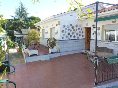 Photo for Beautiful villa with views, garden, fireplace and barbecue