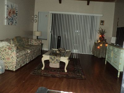 Photo for One bedroom in two bedroom cozy brand New  apartment for vactional rent