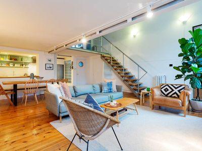 Photo for Stylish and modern 1 bed apartment near Brixton and Clapham (Veeve)