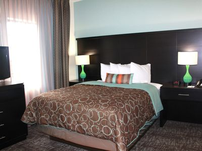 Photo for Free Breakfast Buffet + Outdoor Pool + Hot Tub | Modern Suite
