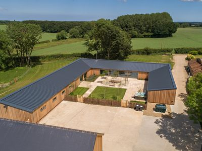 Photo for The Pig House, an amazing conversion.  A perfect spot for gathering and relaxing